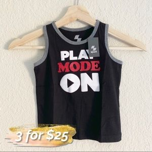CHILDREN'S PLACE PLAY MODE ON TANK TOP (0724)